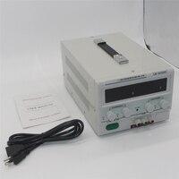 Регулятор напряжения LW-3010KD светодиодный дисплей Регулируемый импульсный регулятор DC блок питания 0-30 в 0-30A телефон ноутбук ремонт 220 В/110 В