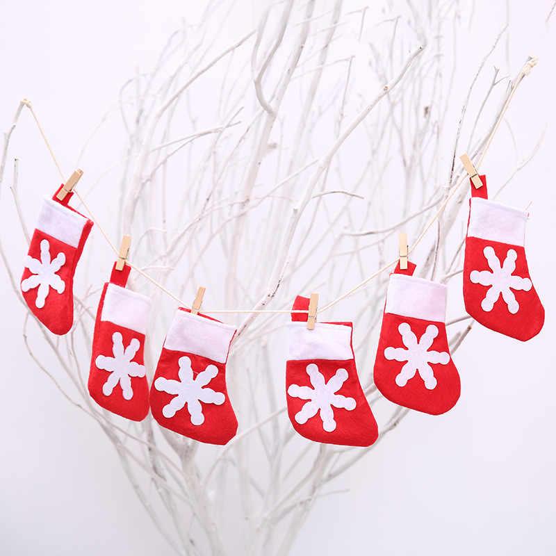 1 M Xmas Menarik Bendera Beruntung Topi Kecil/Pakaian Celana/Kaus Kaki Pola Desain Ornamen Tahun Baru Natal Dekorasi untuk Rumah & Sekolah