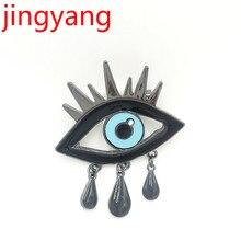 hot deal buy 2018 jingyang fashion custom design wholesale drop eye brooch kpop accessories accessories women bts accessories fashion brooche