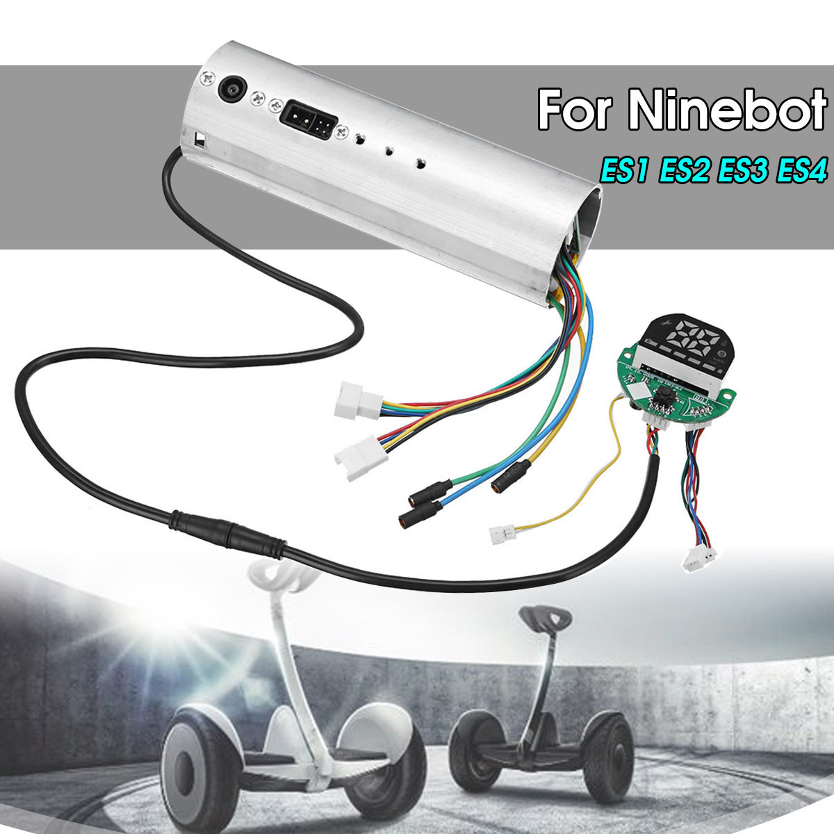 US $45 42 20% OFF|Control Board bluetooth Circuit Dashboard for Ninebot ES1  ES2 ES3 ES4 Electric Scooter Motherboard Controller Replacement Parts-in