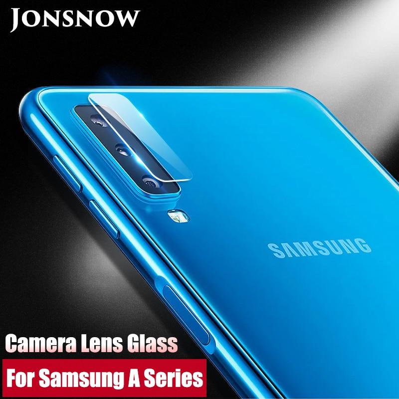 JONSNOW For Samsung A7 2018 Camera Glass For A8 Plus 2018/J4 J6 J8 2018 J610F Screen Protector Clear Camera Lens Protective Film