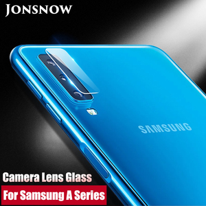 JONSNOW For Samsung A7 2018 Camera Glass for A8 Plus 2018/J4 J6 J8 2018 J610F Screen Protector Clear Camera Lens Protective Film(China)