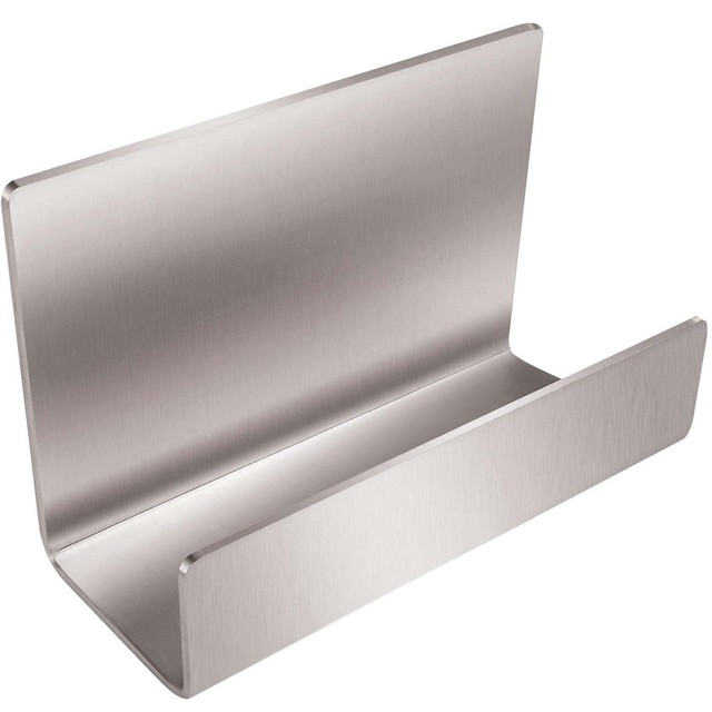 Full Stainless Steel Office Business Card Holder Name Card Stand