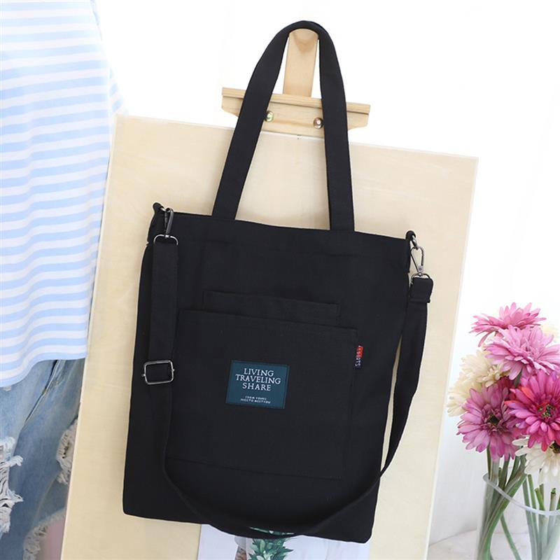 Canvas Handbag Mini Single Shoulder Bag Crossbody Messenger Bags Bucket Bag