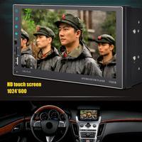 NEW Style 7 Inch DC 12V HD Touch Screen Dual USB2.0 Car MP5 Radio Bluetooth AVI MP4 Stereo FM 7702CM MP5 Player