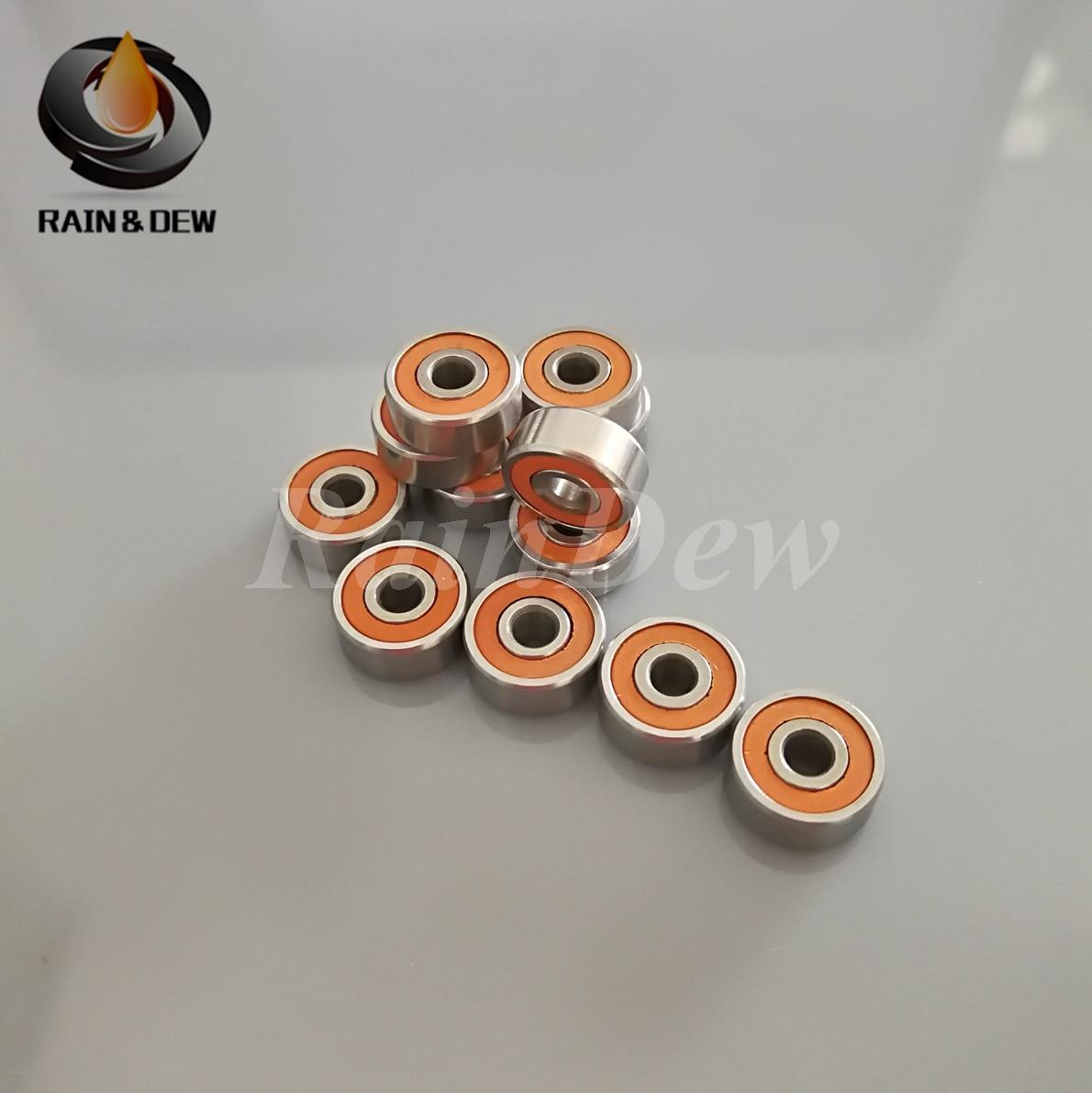 ABEC-7 HYBRID CERAMIC Orange Seal spool bearings 5x11x4 /& 3x8x4