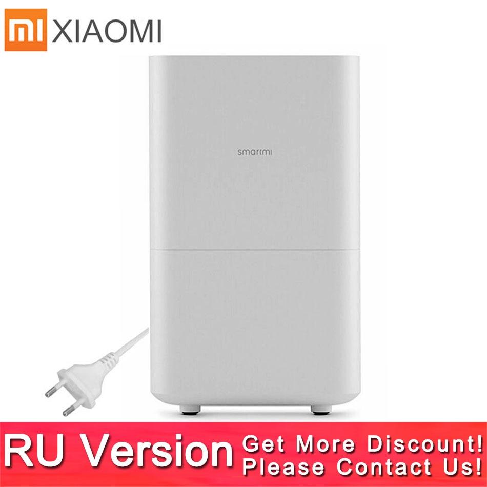 Xiaomi 2 Smartmi Humidifier 2 No Smog No Mist Pure Evaporate Type Zhimi humidifier 2 Mi Home Mijia APP WIFI Control