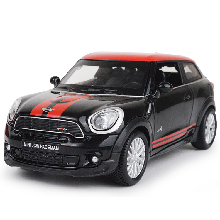 Classic Car Toys MINI JCW PACEMAN Pull Back Die-cast Vehicle Car Models For Boys Gifts Decor