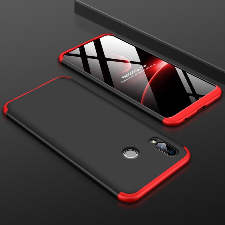 Чехол для Huawei Honor Play, защита на 360 градусов, полноразмерный чехол для телефона Huawei HonorPlay COR L29, противоударный чехол + стеклянная пленка