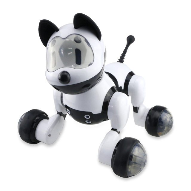 Intelligent RC Robot Dog Toy Smart Electronic Pets Toy With Music Light Voice Control Free Mode Sing Dance Smart Dance Dog Robot