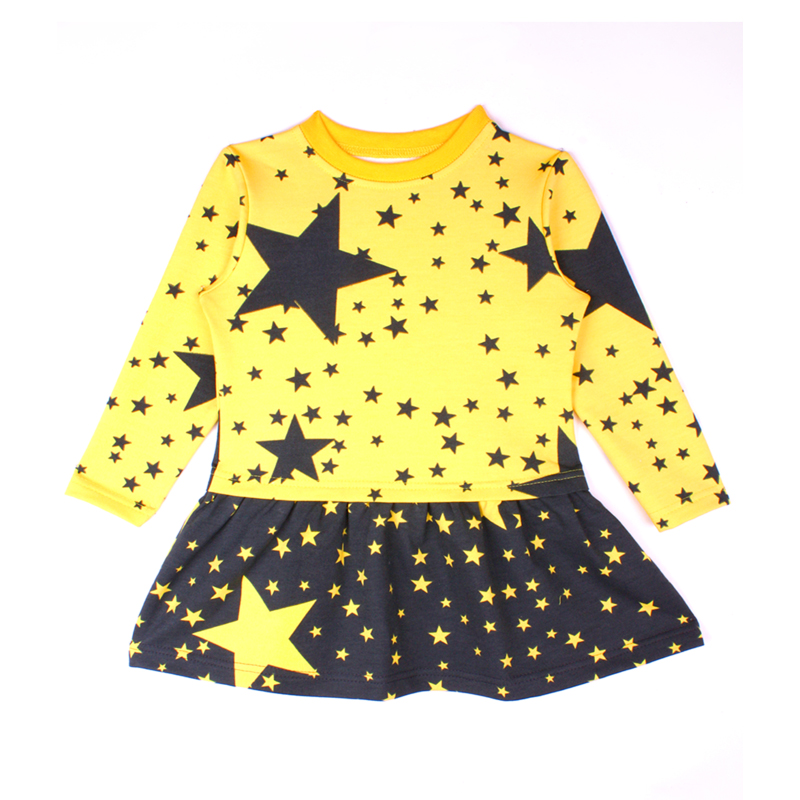 Dress for girls Kotmarkot 20437 foreign trade adicolo digital printing princess dress girls korean princess dress