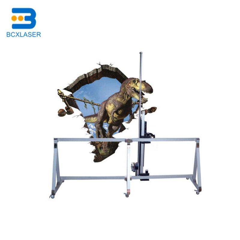 BCX S50 Высокое разрешение 3D яркий настенный принтер наружная реклама печать