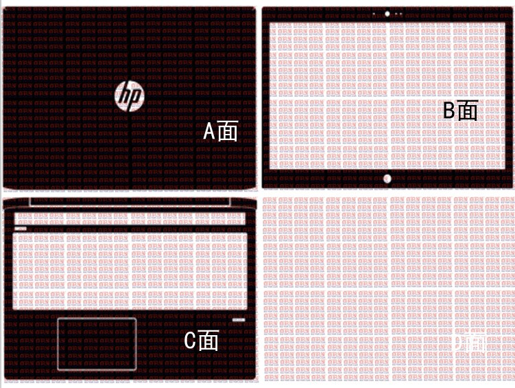 Special Laptop Carbon Fiber Vinyl Skin Stickers Cover Guard For HP ProBook 450 G5 5th Gen 15.6