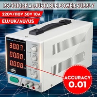 High Precision High Power Adjustable LED Display Switching DC Power Supply 10V/220V0~30V 0~10A For Laboratory and Teaching
