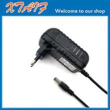 High Quality 6.5V 1500mA 6V 1.5A 5.5*2.5mm 2.1mm Universal AC DC Power Supply Adapter Wall Charger EU/US/UK Plug Positive inside