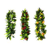 Adeeing Pretty Hawaii Wreath Set Garland Dancing Props Costume Party Props Decoration