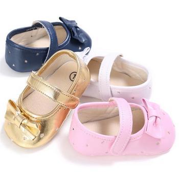 6427242a0 Одноцветное Цвет мягкая подошва, детские детская обувь для принцесс малыша  обувь для От 0 до 1 года для маленьких девочек