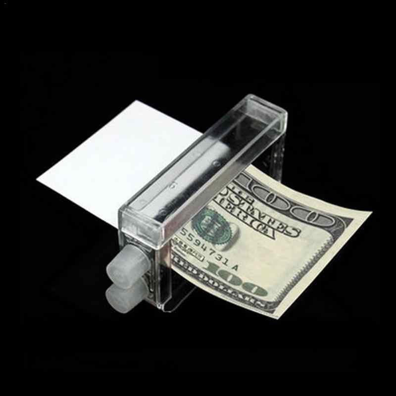 Печатная машина 1 шт. волшебный трюк легкая машинка для печатания денег игрушка монетница Волшебный реквизит Печать пресс Новые экзотические детские игрушки