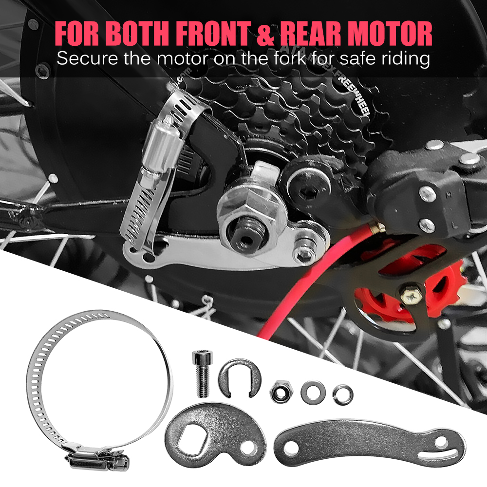 Tool Torque Arm Accessories Washer Kit Set Replacement For Electric Bike