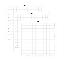 3Pcs Replacement Cutting Mat Transparent Adhesive Mat With Measuring Grid 8 By 12-Inch For Silhouette Cameo Plotter Machine 3pcs replacement cutting mat transparent adhesive mat with measuring grid for silhouette cameo cricut explore