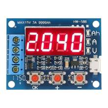 Battery Capacity Meter 18650 Li-ion Lead-acid Discharge Tester Analyzer Tool Micro USB Power Source High Quality(China)