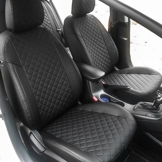 Для Kia Ceed 2012-2018 5D специальные чехлы сидений автомобиля (2 поколения) хэтчбек/универсал полный набор автопилот эко-кожи ROMB