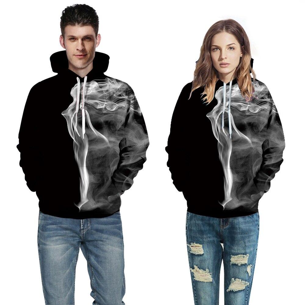 2018 Newest Print 3d Hooded Pullovers Full Sleeve Winter Autumn Hoodies Sporting Tracksuits Couplewear Women/men Sweatshirts
