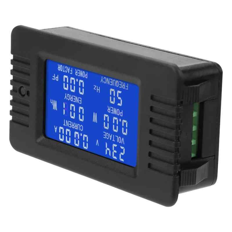 PZEM-018 5A AC цифровой измеритель мощности счетчик энергии напряжение измеритель тока тестер ЖК-дисплей Meauring Инструменты Новый