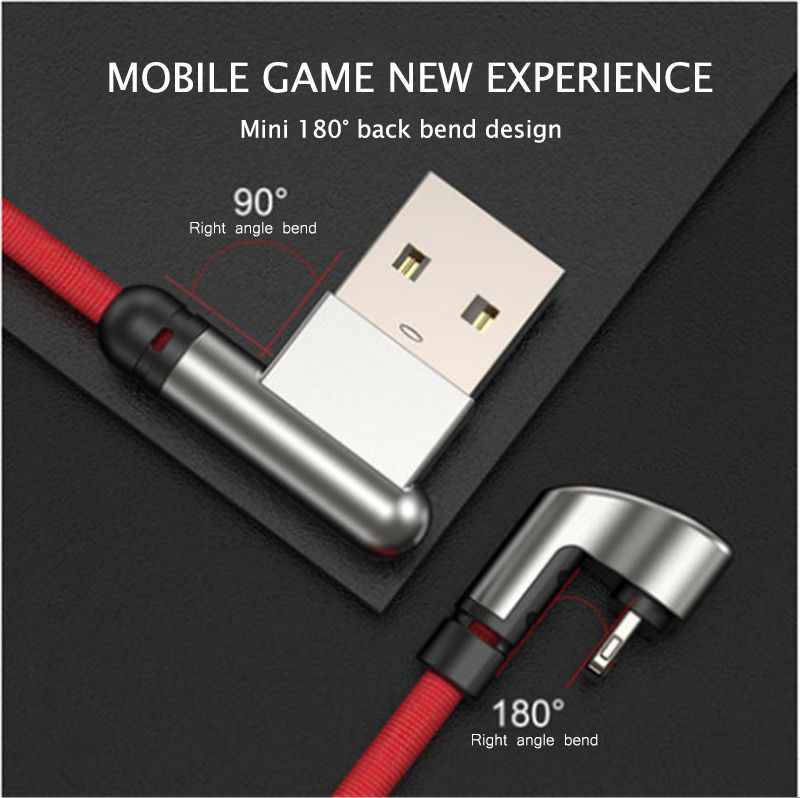 U-type Usb Cable For Iphone X Xr Xs Max Charging Cable Mobile Phone Play Game Cable For Iphone Xs Max Xr X 8 7 6 6s Plus With The Best Service