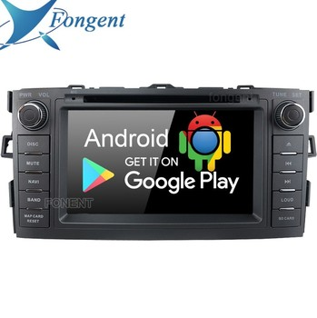 Android 9.0 Unit For Toyota Auris 2008 2009 2010 2011 2012 Car 2 Din Radio GPS DVD Navi Audio Stereo 4 + 64 GB Multimedia Player