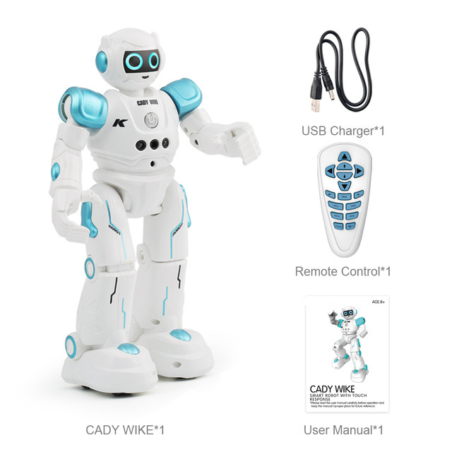 LEORY Intelligente RC Humanoïde Geste Robot Pour Enfants D'anniversaire De Noël Cadeau Programmation Télécommande Robotica Jouet Chanter