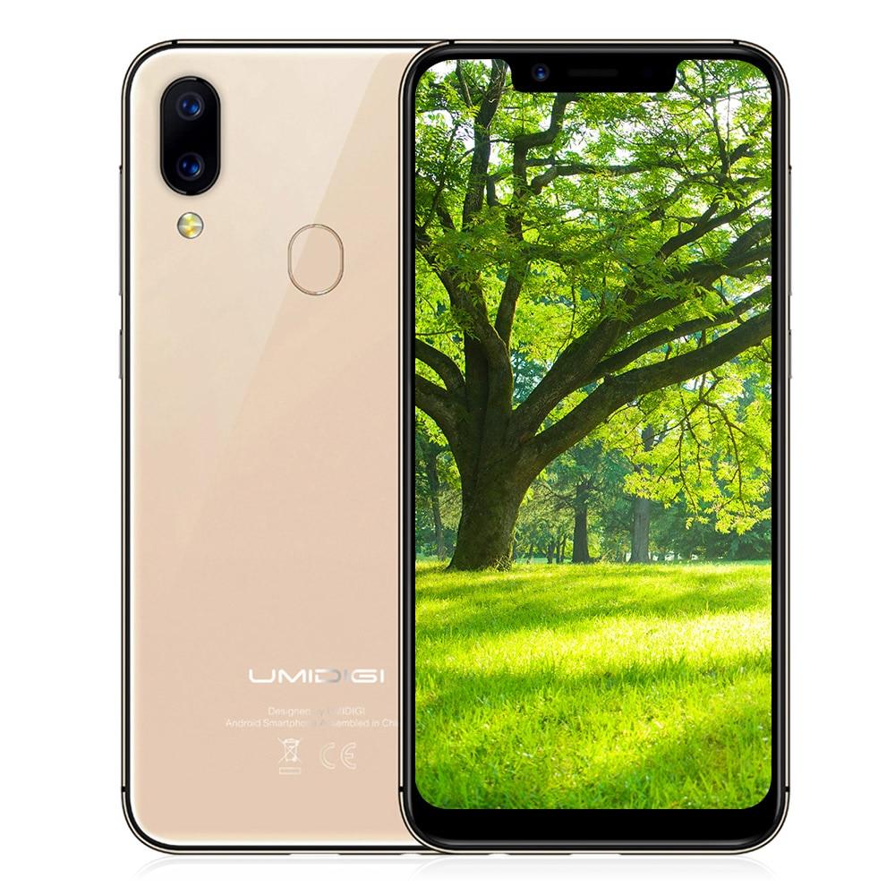 UMIDIGI A3 Pro 4G Smartphone 5.7 Inch Android 8.1 MTK6739 Quad Core 1.5GHz 3GB RAM 32GB ROM 12.0MP 3300mAh Mobile Smartphone
