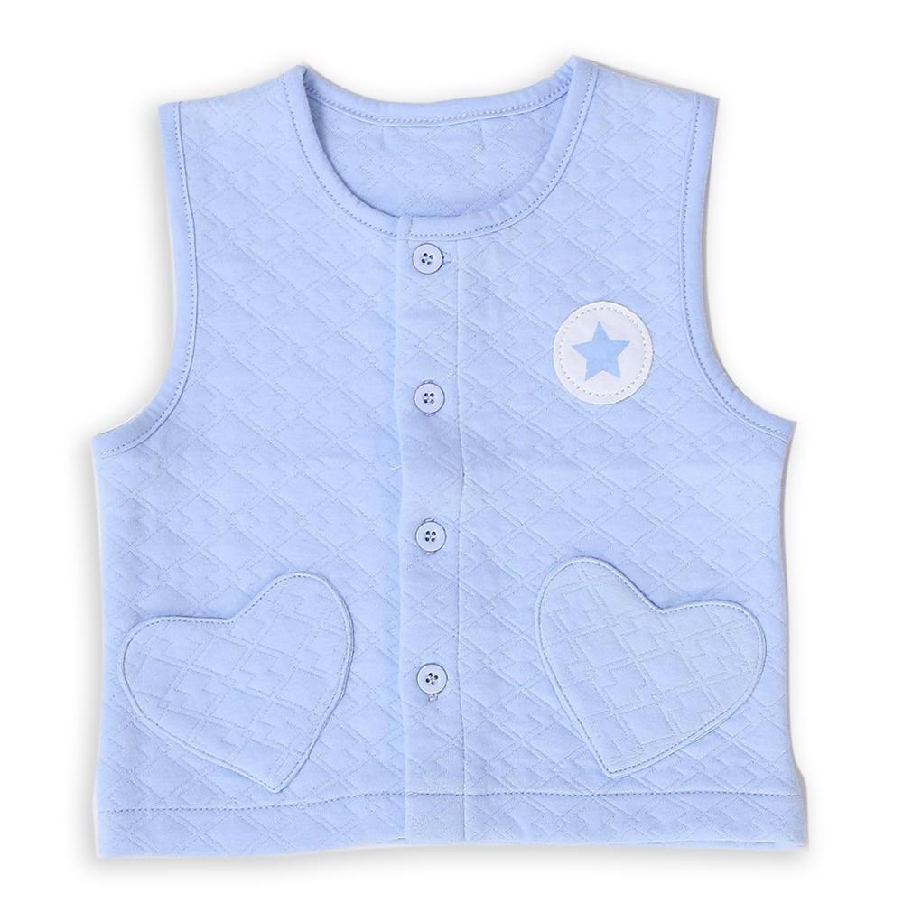 0-2 Tahun Lama Bayi Boy Girl Jaket Jaket Vest Pakaian Luar di Spring - Pakaian bayi - Foto 1