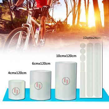 Şeffaf Yüzey Sticker Koruyucu çerçeve Bisiklet Bisiklet MTB Bisiklet E N E N E N E N E N E N E N E Dayanıklı Koruma Filmi 10p