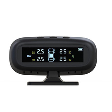 Solar TPMS Car Tire Pressure Alarm Monitor System Display Temperature Warning Fuel Save with 4 Sensors special car tire pressure system only for ownice display the tempreature and pressure with high degree accuracy