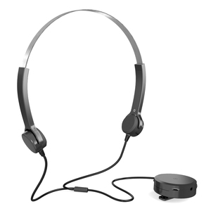 Image 1 - 骨伝導ヘッドセット補聴器ヘッドフォン骨伝導式サウンドイヤホンピックアップaux in用の聴覚困難