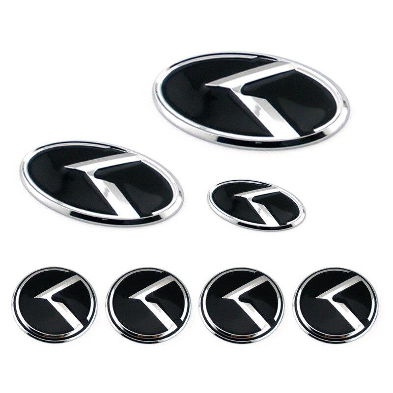 Front Hood//Trunk//Wheel hub cap//Steering Horn Emblem 7p for KIA SOUL 2008~2012