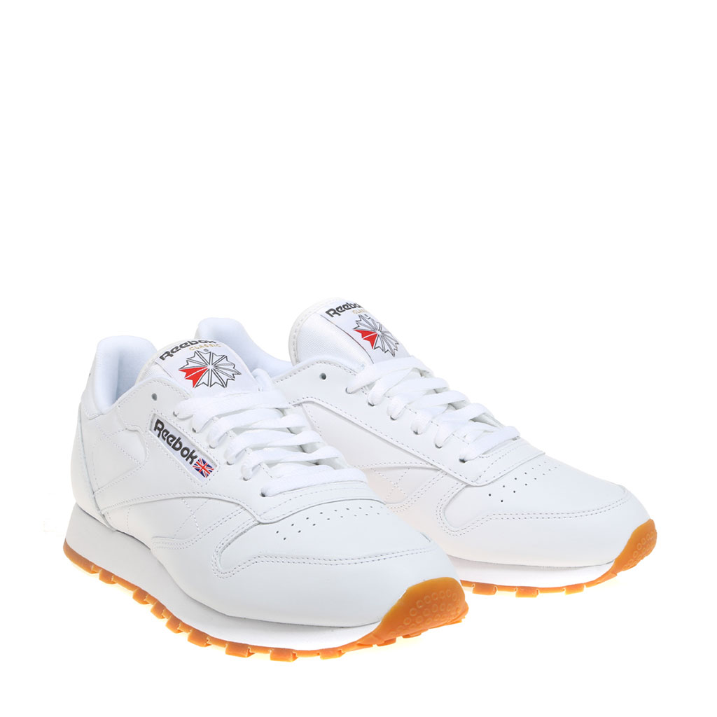 US $101.04 |REEBOK CLASSIC LEATHER White Men Sneaker Light Molded EVA Durability Soft Slipper Comfortable Fashion Man Spring 59990 in Running Shoes