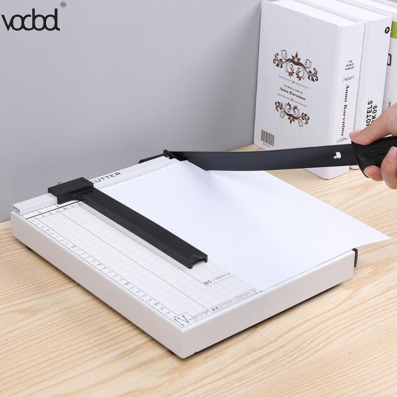 Profissional a4 cartão de papel trimmer guilhotina diy scrapbook foto cortador escritório cortador de papel corte portátil aparador de papel novo