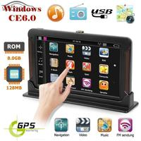 7 Capacitive Touch Screen Q8 Center Console Car 3D GPS Navigator FM Transmitter Audio Video Player built in DDR128M/800MHZ/8GB