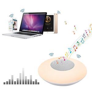 Image 3 - Senza fili di Bluetooth del Giocatore di X6 Colorful Intelligente HA CONDOTTO LA Lampada Altoparlante Stereo Hd Suoni Musica Circostante Dispositivi Lampada Uffici Allaperto