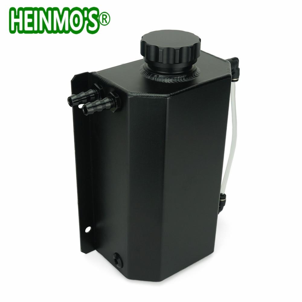 2L universel en alliage poli liquide de refroidissement vase d'expansion réservoir d'eau en-tête réservoir de débordement réservoir peut Kit