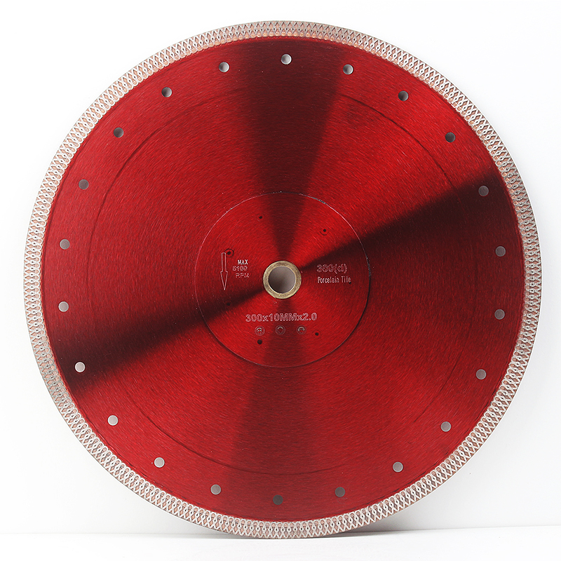 DC-SXSB09 Super Thin 12 Inch 300mm Diamond Tile Saw Blade For Ceramic And Porcelain Tile Cutting