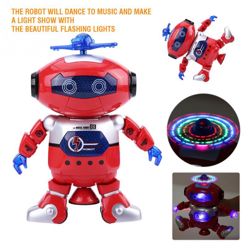 Kids Robot Cool Flashing Lights Boys Robots Dancing ...