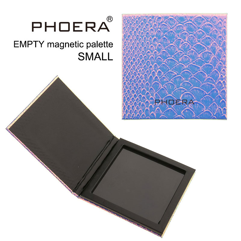 PHOERA 18 Colors 9 Colors Mini Eyeshadow Magnetic Attraction Storage Box Pearlescent Matte Eye Shadow Platte Box Makeup Tool Kit