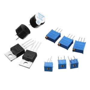 Image 4 - חדש רכיבים אלקטרוניים Junior Starter ערכות עם הנגד טיפוס Power Supply מודול עבור Arduino עם פלסטיק תיבת חבילה