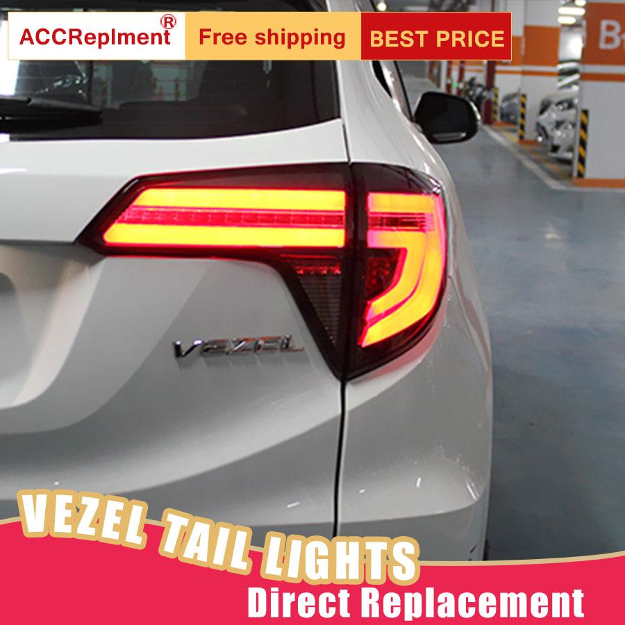 Car Styling LED Tail Lamp for Honda HRV VEZEL Tail Lights 2015 2018 for HRV Rear