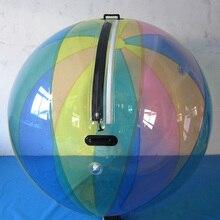 Tpu 1,0 мм 2,0 м модный дизайн водяных шариков, супер качество надувные шарики для водных прогулок