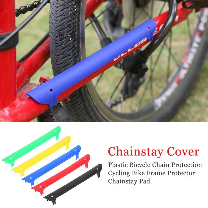 Cycling Bicycle Bike Frame Chain stay Protector Guard Nylon Pad Cover Wrap