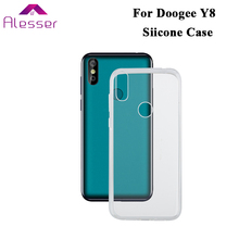 Alesser For Doogee Y8 Silicone Case Soft Transparent Protective Back Cover Anti-knock Shell For Doogee Y8 Phone Case стоимость